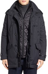 Tumi Men's 3 In 1 Travel Parka With Faux Fur Trim