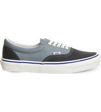 Vans Era Lx Two Tone Canvas Trainers Navy Lead