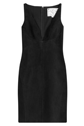Dsquared2 Suede Dress Black