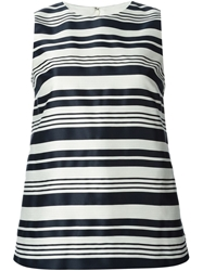 Red Valentino Striped Tank Top