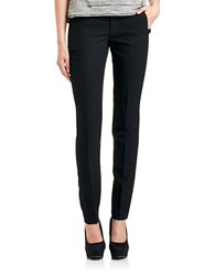 424 Fifth Dress Pants With Zipper Pockets Black