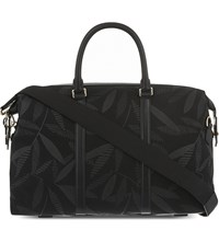 Paul Smith Leaf Print Travel Holdall Black