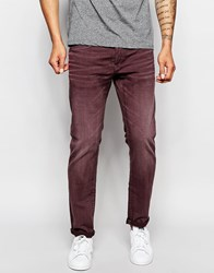 G Star G Star Jeans Radar Tapered Fit Coloured Sandford Twill Overdye Purple