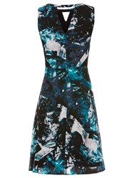 Sugarhill Boutique Livvy Icey Flare Dress Teal
