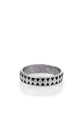 Forever 21 Etched Geo Ring