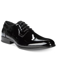 Unlisted By Kenneth Cole Men's H Eel The World Oxfords Men's Shoes Black