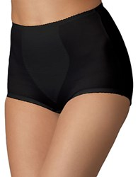 Bali Plus Light Panel Briefs Two Pack Two Black