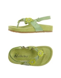 Naturino Thong Sandals Acid Green