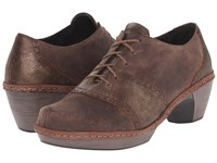 Naot Footwear Besalu Bronze Shimmer Suede Crazy Horse Leather Women's Shoes Brown