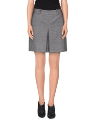 Axara Paris Mini Skirts Grey