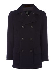 Howick Men's Norwood Pea Coat Navy