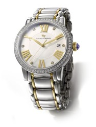 David Yurman Classic 38Mm Quartz Watch With 18K Gold And Diamonds No Color