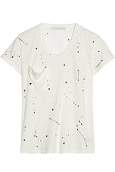 Kain Label Alena Jersey T Shirt White