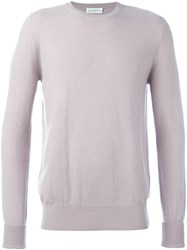 Ballantyne Classic Jumper Nude And Neutrals
