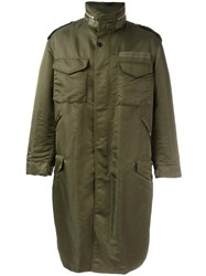 Casely Hayford Oversized Parka Green