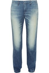Rag And Bone Pajama Low Rise Boyfriend Jeans Blue