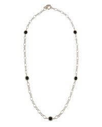 Slane Long Nuage Station Necklace W Onyx