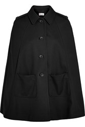 Red Valentino Redvalentino Twill Cape Black