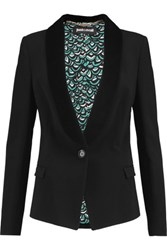 Just Cavalli Crepe Blazer Black