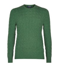 Polo Ralph Lauren Cashmere Cable Knit Jumper Male Forest