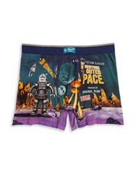 Original Penguin Space Print Cotton Blend Boxers Space Post