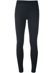 Y 3 Fine Knit Leggings Black
