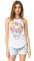 Chaser Flowers Crown Tee White