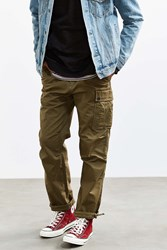 Urban Outfitters Uo Garment Overdyed Cargo Pant Olive