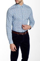 Moods Of Norway Mikkel Slim Fit Shirt Blue
