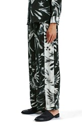 Topshop Women's Boutique Abstract Bird Print Pants