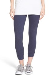 Women's Lysse Ruched Capri Leggings Eclipse Melange