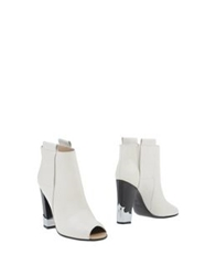 Golden Goose Ankle Boots Ivory