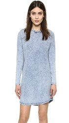The Fifth Label The Beat Long Sleeve Dress Washed Indigo
