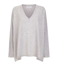 Amanda Wakeley V Neck Cashmere Jumper Female Grey