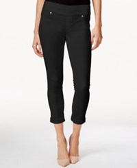Styleandco. Style And Co. Petite Ankle Jeggings Bright White Wash Only At Macy's Deep Black