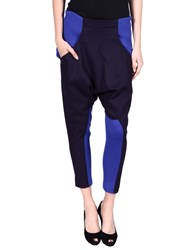 Y 3 Trousers Casual Trousers Women Dark Blue