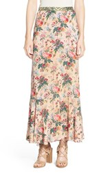 Women's Plenty By Tracy Reese Floral Maxi Skirt