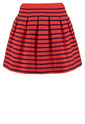 Gap Pleated Skirt Red
