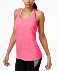Under Armour Ua Tech Heathered Racerback Tank Top Harmony Red