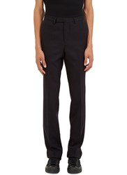 Raf Simons Classic Subtle Striped Suiting Pants Grey