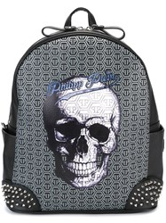 Philipp Plein 'Saint' Backpack Black