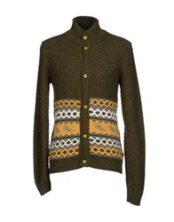Havana And Co. Cardigans Military Green