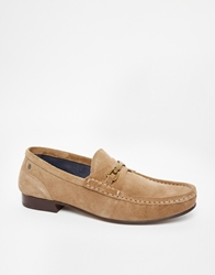 Base London Suede Loafer Beige