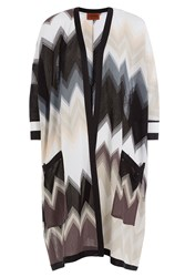 Missoni Chevron Knit Cardigan Multicolor