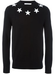 Givenchy Star Sweater Black
