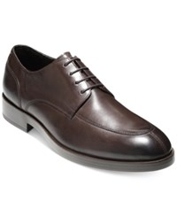 Cole Haan Men's Henry Grand Oxfords Men's Shoes Dark Brown