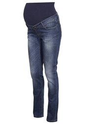 Noppies Monroe Straight Leg Jeans Stone Wash Bleached Denim