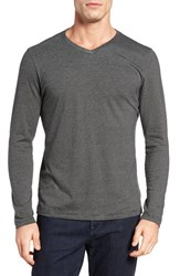 Robert Barakett Men's 'Royce' Pima Cotton V Neck T Shirt