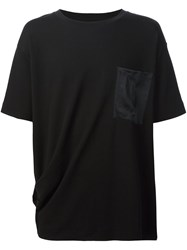 Rag And Bone Chest Pocket T Shirt Black