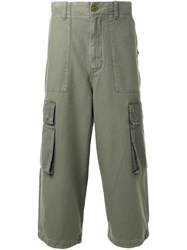 Cityshop Cargo Pocket Trousers Green